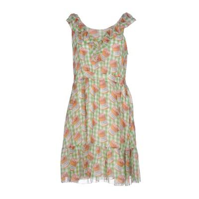 ブルーガール ブルマリン BLUGIRL BLUMARINE ミニワンピース&ドレス グリーン 40 ポリエステル 100% / レーヨン ミニワン