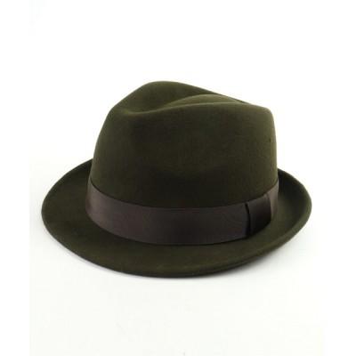 FUNALIVE / 【SENSE OF GRACE】 THE FELT HAT ウールフェルト 中折れハット MEN 帽子 > ハット