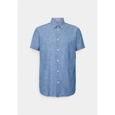 セレクテッドオム シャツ メンズ トップス SLHREGNEW SHIRT CLASSIC - Shirt - medium blue denim