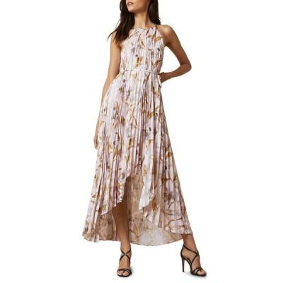 テッドベーカー レディース ワンピース トップス Dixie Cabana Pleated Maxi Dress LT-PINK