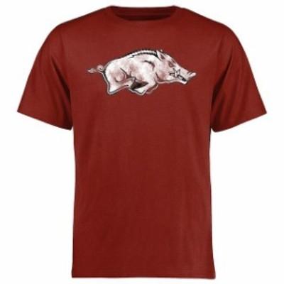 Fanatics Branded ファナティクス ブランド スポーツ用品  Arkansas Razorbacks Cardinal Big & Tall Classic Primary T-Shirt