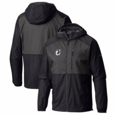 Columbia コロンビア スポーツ用品  Columbia Minnesota United FC Black Flash Forward Full-Zip Windbreaker Jacket