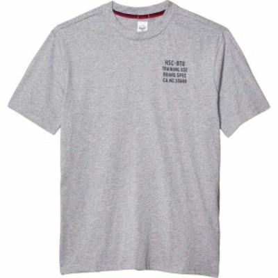 ハーシェル サプライ Herschel Supply Co. メンズ Tシャツ トップス Tee Heather Grey/Peacoat
