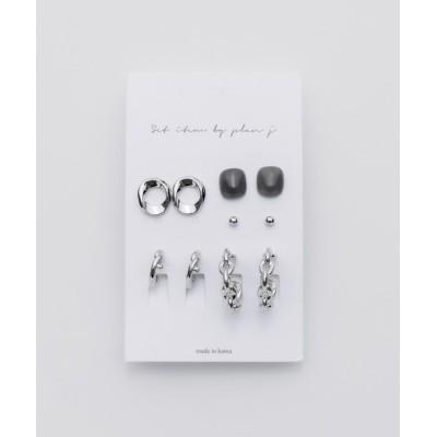 wears / ピアス 5セット / pierce 5 set WOMEN アクセサリー > ピアス(両耳用)