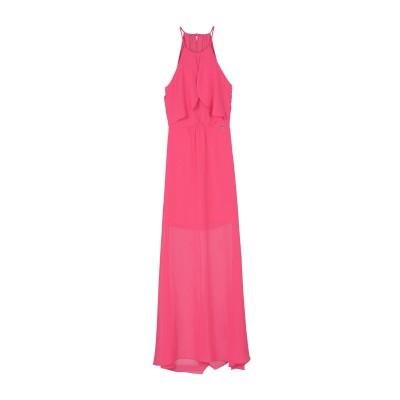 リュー ジョー LIU •JO ロングワンピース&ドレス フューシャ 42 100% ポリエステル ロングワンピース&ドレス