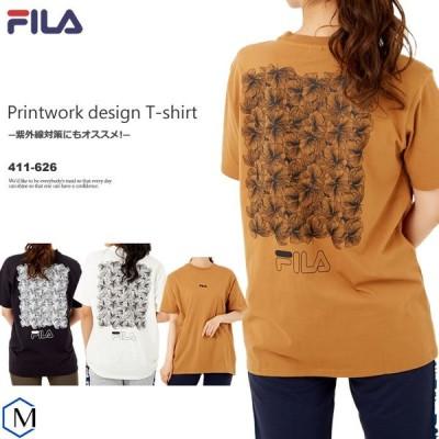 (ウェア・Tシャツ) 半袖Tシャツ FILA(フィラ) 411-626 レディース