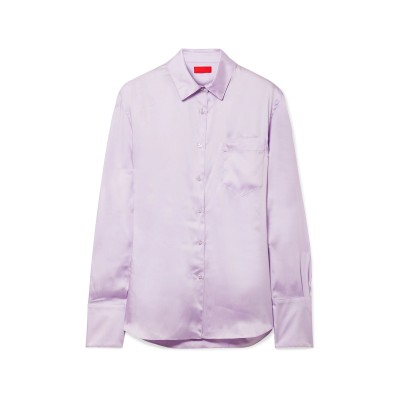 COMMISSION シャツ ライラック 8 ポリエステル 100% シャツ