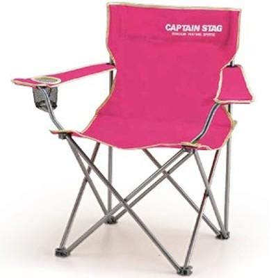 キャプテンスタッグ(CAPTAINSTAG) キャンプ パレット ラウンジチェア typeII(ピンク) M-3915 【アウトドア バーベキュー 椅子 運動会
