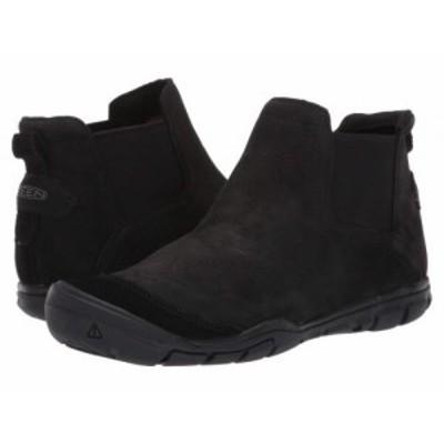 Keen キーン レディース 女性用 シューズ 靴 ブーツ チェルシーブーツ アンクル CNX II Chelsea Black/Black【送料無料】