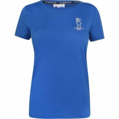 プラダ NORTH SAILS 36TH AMERICAS CUP PRESENTED BY PRADA レディース Tシャツ トップス T Shirt Royal