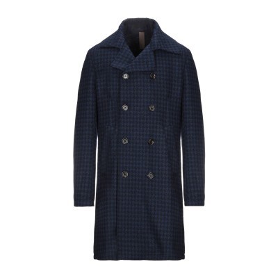イレブンティ ELEVENTY コート ダークブルー 48 ウール 80% / ナイロン 20% コート