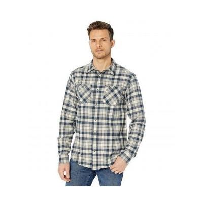 Timberland PRO ティンバーランド メンズ 男性用 ファッション ボタンシャツ Woodfort Flex Flannel Work Shirt - Total Eclipse Littleton Plaid