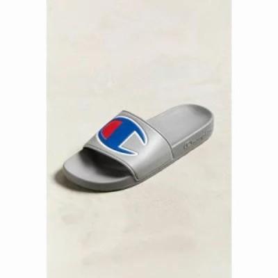 チャンピオン サンダル Big Logo Slide Sandal Grey