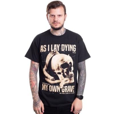 インペリコン Impericon メンズ Tシャツ トップス - Snake Grave - T-Shirt black