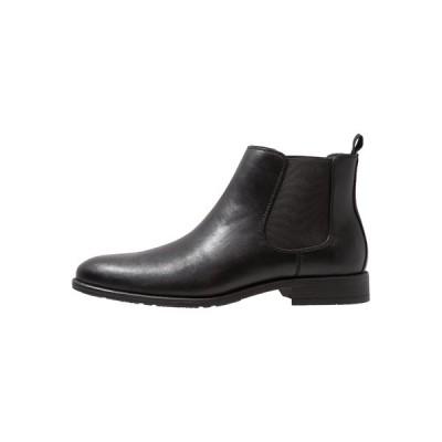 ピアワン ブーツ&レインブーツ メンズ シューズ Classic ankle boots - black