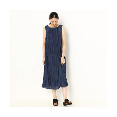 <Gabardine K.T(Women)/ギャバジンケーティー> リンクルプリーツ ドレス(7206OP03) 01【三越伊勢丹/公式】