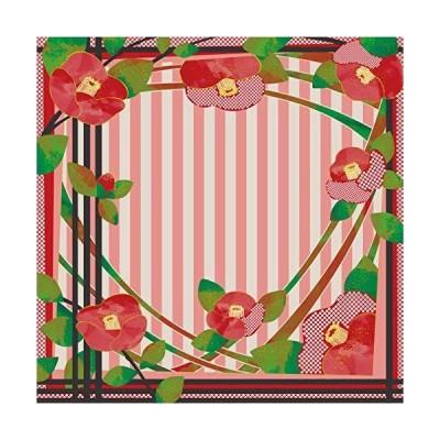 三陽商事 ディア・レディー ふろしき 二四巾 椿 つばき 07-051041 約97cm幅
