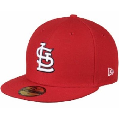 New Era ニュー エラ 帽子 ハット New Era St. Louis Cardinals Womens Red Authentic Collection On-Field 59FIFTY Fitted Ha