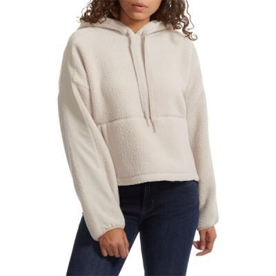 ホールデン Holden レディース パーカー シアリング トップス oversized shearling hoodie Canvas