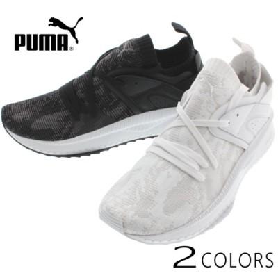 プーマ PUMA スニーカー ツギ ブレイズ エヴォニット WF 365498 プーマホワイト/グレーバイオレット(01) ブラック/クワイエットシェード(02)