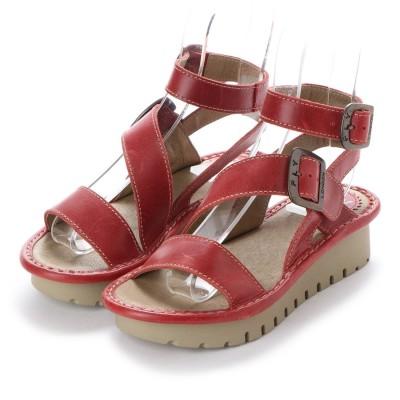 ヨーロッパコンフォートシューズ EU Comfort Shoes FLYLONDON サンダル(500.563) (レッド)