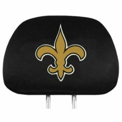 Pro Mark プロ マーク スポーツ用品  New Orleans Saints 2-Pack Headrest Covers