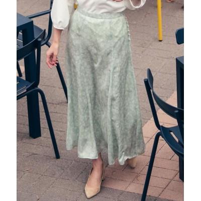 Ketty Cherie/ケティ シェリー 小花柄スカート グリーン S