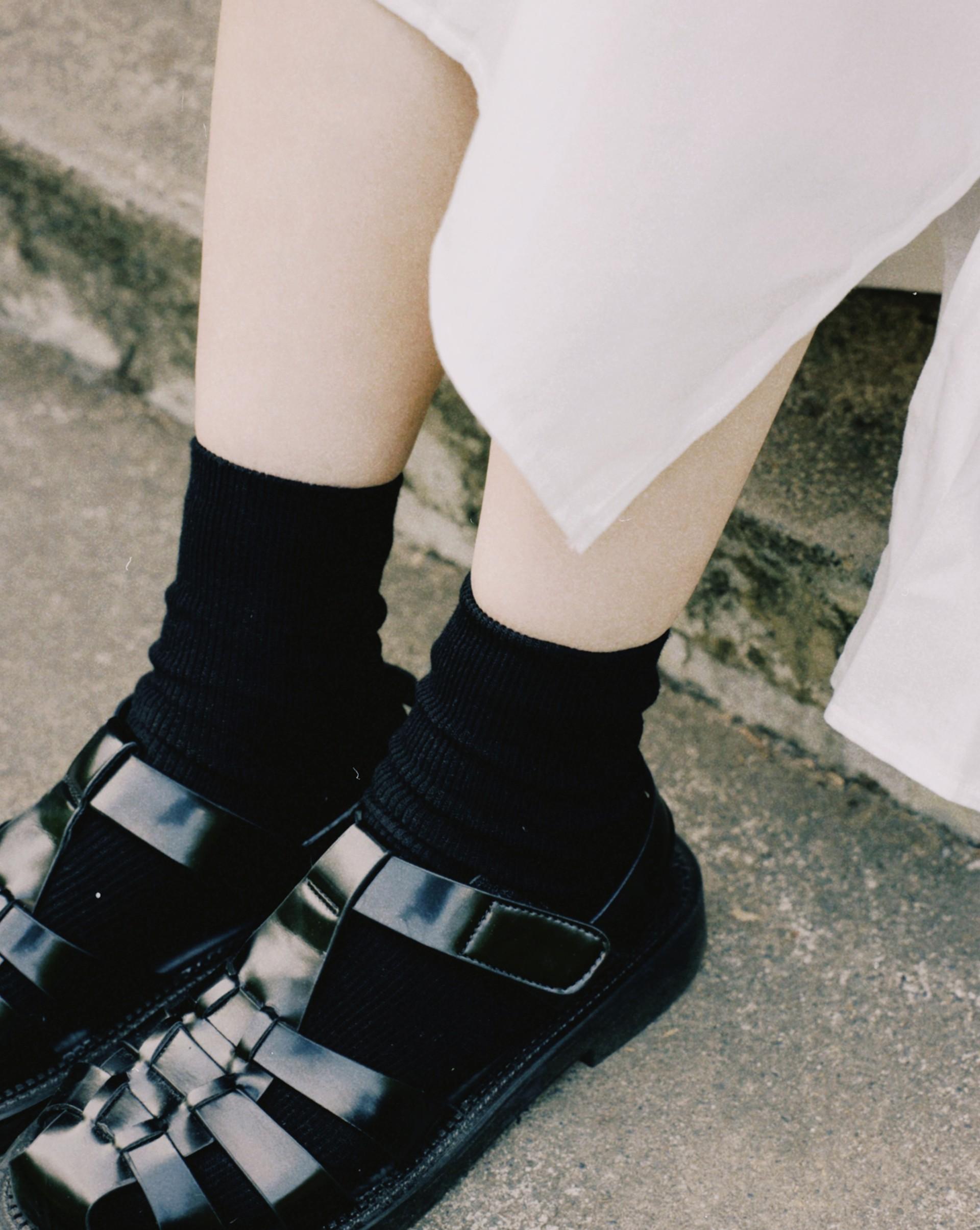 簡約百搭小短襪-Meierq
