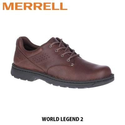 メレル MERRELL ワールド レジェンド 2 チョコレート ポリッシュ メンズ ビジネスシューズ 通勤 会社 オフィス 軽量 J000861 MERM000861