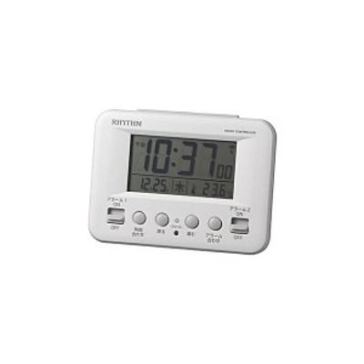 フィットウェーブ ホワイト 8RZ191SR03 代引不可 家電 生活家電 置き時計 掛け時計[▲][TP]