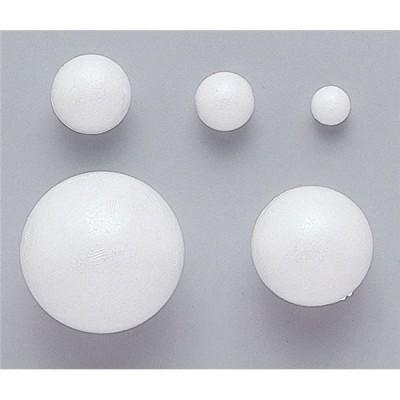 (まとめ)アーテック 発泡スチロール球 〔φ60mm〕 10個入り 〔×5セット〕