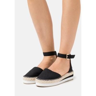 レイドワイドフィット レディース ヒール シューズ WIDE FIT JOLIE - Platform heels - black black