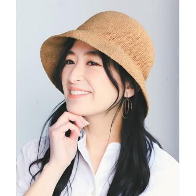 14+(ICHIYON PLUS) / ペーパー細編みバケットハット WOMEN 帽子 > ハット