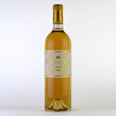 シャトー ディケム 2004 イケム フランス ボルドー 白ワイン