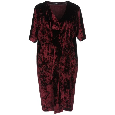 HOPE COLLECTION ミニワンピース&ドレス ディープパープル 42 ポリエステル 90% / ポリウレタン 10% ミニワンピース&ドレス