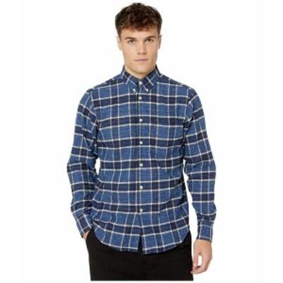 ナイキッドアンドフェイマス メンズ シャツ トップス Easy Shirt - Northern Brushed Flannel Button-Down Shirt Northern Brushed Flann