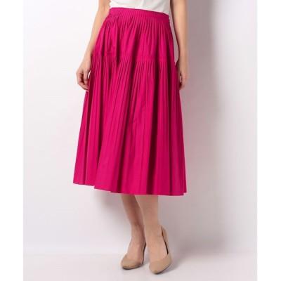 【アルアバイル/allureville】 【Loulou Willoughby】タイプライタープリーツスカート