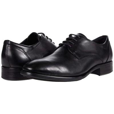 エコー Citytray Plain Toe Tie メンズ オックスフォード Black