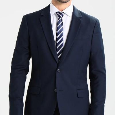 ピアワン メンズ スーツ Suit - dark blue