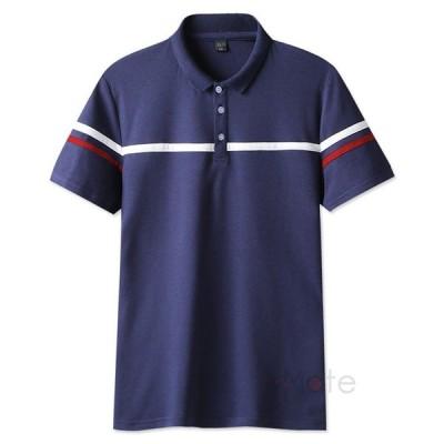 ポロシャツ メンズ 無地 POLOシャツ ゴルフウェア 半袖 Tシャツ おしゃれ シンプル 夏 40代 50代 トップス 部屋着 夏新作