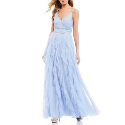 ティーズミー レディース ワンピース トップス Caviar Beaded Bodice Corkscrew Dress