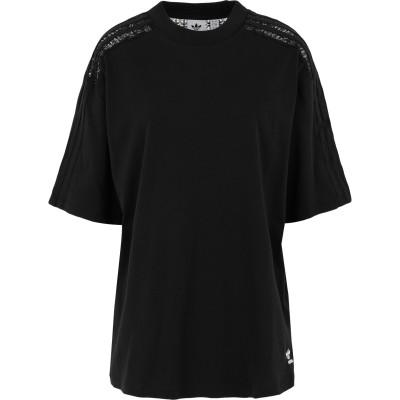 ADIDAS ORIGINALS T シャツ ブラック 30 コットン 100% T シャツ