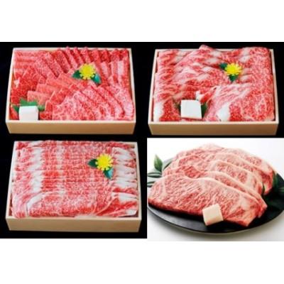 200-2 【冷蔵・年4回お届け】特選 黒田庄和牛食べつくしセット(ロース、合計3,890g)