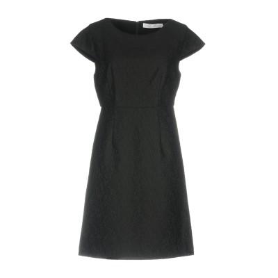 アノニム デザイナーズ ANONYME DESIGNERS ミニワンピース&ドレス ブラック M ポリエステル 100% ミニワンピース&ドレス