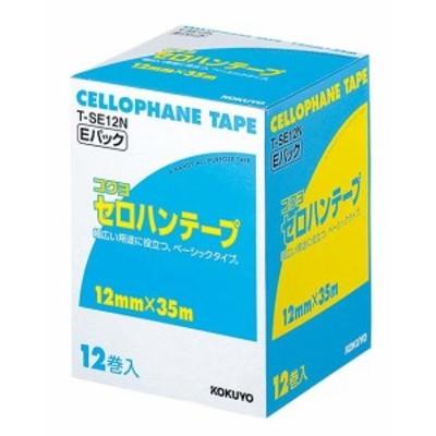 コクヨ セロハンテープ T-SE12N(12巻入)    [1854-06]