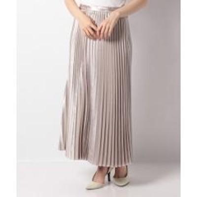 Leilian(レリアン)ロングプリーツスカート