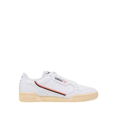 ADIDAS ORIGINALS スニーカー&テニスシューズ(ローカット) ホワイト 4 革 / 紡績繊維 スニーカー&テニスシューズ(ローカット)