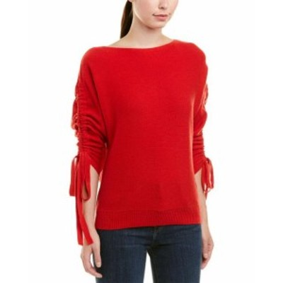 Joie ジョイー ファッション トップス Joie Dannee Wool-Cashmere Blend Top Xxs Red