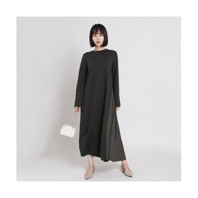 MARTHA(マーサ) バックプリ-ツポンチワンピース (ワンピース)Dress