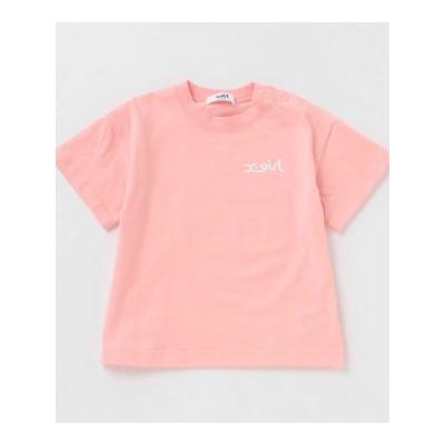 【X-girl stage】バックプリントジャンクフード半袖Tシャツ
